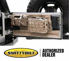 Smittybilt G.E.A.R. MOLLE Tailgate Cover and 2 Pouches 07-16 Jeep Wrangler JK