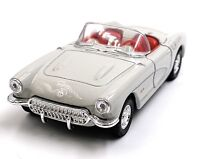 1957 Chevrolet Corvette Cabriolet Gray Model Car Car Scale 1:3 4 (Licensed)