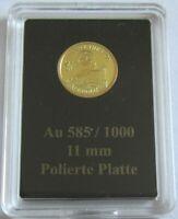 Nauru 1/2 Dollar 2018 Heinrich der Löwe Gold