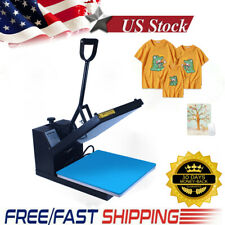 15x15 Clamshell Heat Press Machine Sublimation Digital Transfer For Diy T Shirt