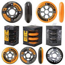 K2 Inline Skate Wheels Spare Wheels Pack of 4 Viererpack Rollenset 4 Pcs