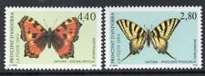 ANDORRA(FRENCH) MNH 1994 SGF491-2 Nature Protection, Butterflies