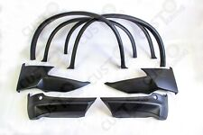 FRONT and REAR bumper ELERONS 4pcs +wide WHEEL ARCH SET 4pc BMW X6 E71 2008-2014