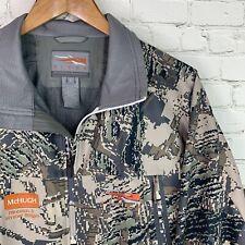 Men's MINT! SITKA Gear (L) Full Zip Lightwight Windstopper Hunting Jacket