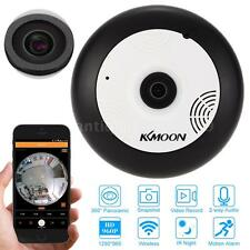 Wireless 360° Camera Fisheye Panoramic 960P Night Dome Wifi Network IP Cam N0M5
