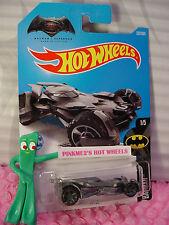 Dawn of Justice BATMOBILE #237✰Gray✰BATMAN v SUPERMAN✰2017 i Hot Wheels case K/L