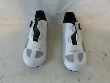 Louis Garnaeu Platinum II Cycling Shoes Men's 43 US 9.5 White Retail $160