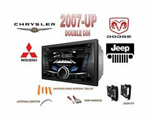 2007-UP CHRYSLER DODGE RAM JEEP Bluetooth CD USB MP3 AUX Stereo Combo Kit