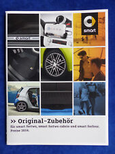 Smart Fortwo Forfour Cabrio Brabus-Accessoires-prospectus brochure 01.2016