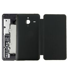 Horizontal Flip Leather Case+Plastic Back Cover for Microsoft Lumia 640XL Black