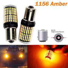 Amber Rear Turn Signal Light 1156 BA15S P21W 7506 3497 1141 144 LED Bulb A1 LA