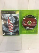 Xbox 007 Everything Or Nothing(CIB) And True Crime Streets Of LA(Disk Only)