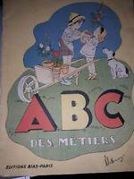 ABC des métiers  editions Bias Paris 1951