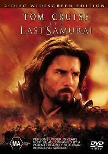 Last Samurai DVD - Tom Cruise Movie - SAME / NEXT DAY FREE POSTAGE from SYDNEY