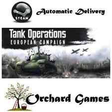 Tank Operations: European Campaign: PC : (Steam/Digital)  Auto Delivery