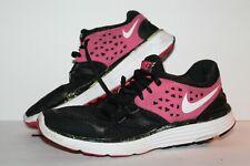 Nike Lunarswift 3+ Running Shoes, Black/Pink/White, Women's US Size 6.5