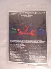 XeroGear Night Fly System Red/Blue 450 Size Heli XERONFS-450RB NIP