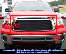 Fits Toyota Tundra Black Billet Grill Combo 10-11