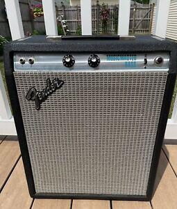 1978 Fender Musicmaster Bass Amp Original Fender Tubes TIME CAPSULE! RARE! LOOK!