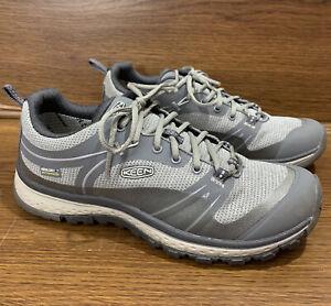 KEEN Womens Terradora Neutral Gray/Gargoyle Hiking Shoes Size 6.5