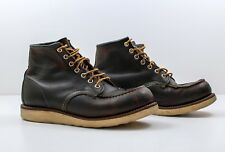 Men's Red Wing Classic Moc Toe Boot 8138 – Brown – Size UK 8