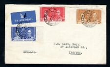 Northern Rhodesia - 1937 KGVI coronation Airmail First Day Cover