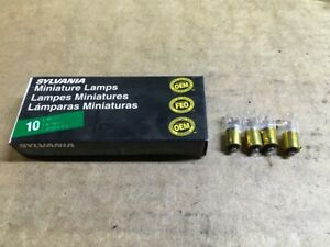 New Sylvania Instrument Panel Light Bulb 1816 - 4 bulbs
