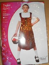 Girls Fairytale Medieval Tudor Girl  Fancy Dress age 5/7 122cm - 134cm