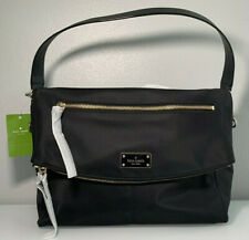 KATE SPADE New York Lyndon Wilson Road Nylon Calista Black Tote Shoulder Bag