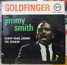 JIMMY SMITH GOLDFINGER FRENCH EP DISQUES VERVE 1965