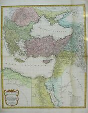 Antique Map of the East Roman Empire by Jean Baptiste D'Anville 1782