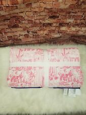 Pottery Barn Lilly Pulitzer Reversible Quilt In La Via Loca King Cal King