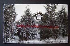 The LAZY L, JACK & JILL RANCH Montague, Michigan RPPC postcard, 1946, Double JJ