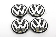 Genuine VW Beetle Passat Jetta Touareg 04-15 Wheel Center Hub Caps Covers 4x SET