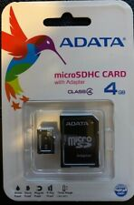 Data Storage Card Micro SDHC Card 4GB with Adapter Picture Storage ADATA Class 4