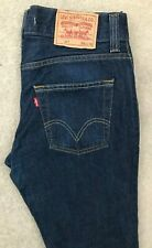 Levis 511 Slim Fit Denim Jeans Mens W34 L32 Dark Blue Red Tab #2