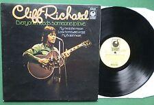 Cliff Richard Everyone Needs Someone to Love inc My Foolish Heart + SPR 90070 LP