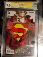 Adventures Of Superman #14 Cgc 9.6 SS signed By Jock