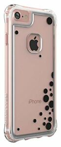 Ballistic Apple iPhone 7 iPhone 8 Clear Jewel Slim Tough Case with Black Bubbles