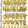 "Gold/Silver Helium Foil 40"" Number Letter Balloons Birthday Wedding Party Decora"