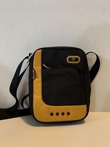 Tumi Black Yellow Urban Gear Messenger Crossbody Travel Tablet Tech Bag Men