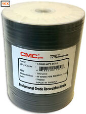 600-Pak CMC PRO (TY Technology) =WHITE THERMAL HUB= EVEREST 16X 4.7GB DVD-R's!