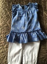 Baby Girls Next Tunic And Trouser Set, 12-18 Months
