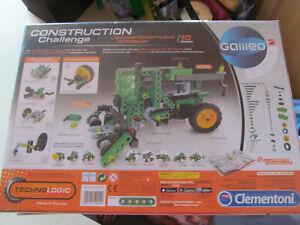 Construction Traktor Bulldog John Deere Landwirtschaft Mähdrescher Clementoni