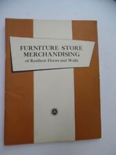 1953 Armstrong Cork Company Wall Covering Flooring Merchandising Manual Vintage