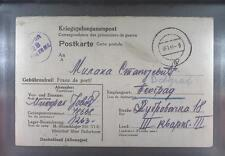 Camp Stalag 326 Senne 1944 POW Prisoner Serbien Kriegsgefangenenpost K28