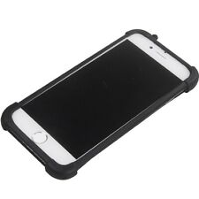 """Stretchy Silicone Soft Phone Bumper Case Cover For BlackBerry Evolve (6"""")"""