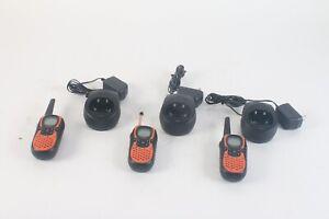 Uniden GMR648-2CK Deux Voies Radio W/RC6488 Chargement Berceaux Lot De 3