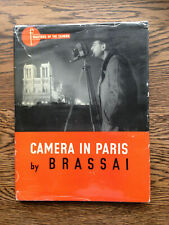 Brassai – Camera in Paris (1st/1st 1949 UK hb w dw) Paris de Nuit Paris by Night