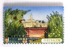 JERUSALEM Citadel of David Tower 3D MAGNET Holy Land Jewish & Christian Souvenir